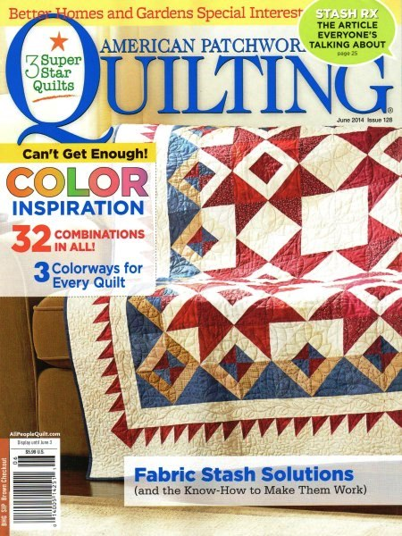 American Patchwork Quilting June 2014 Issue 128