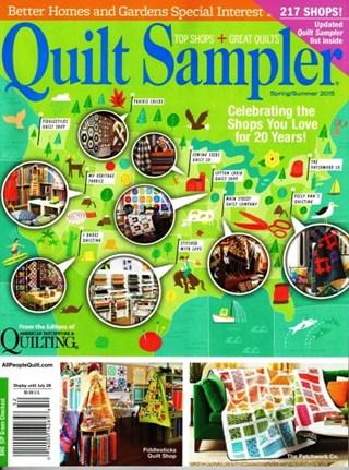 Quilt Sampler Spring Summer 2015