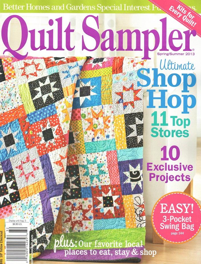 Quilt Sampler Spring Summer 2013