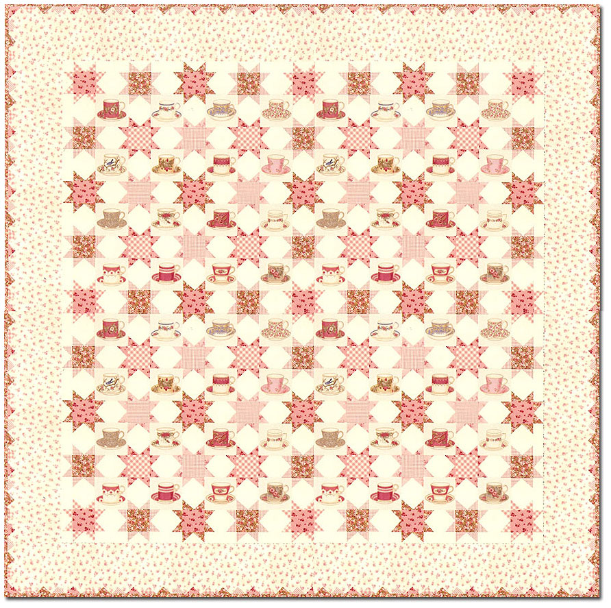 Sweet Tea 'Full Size' Quilt KitAmerican Patchwork ...