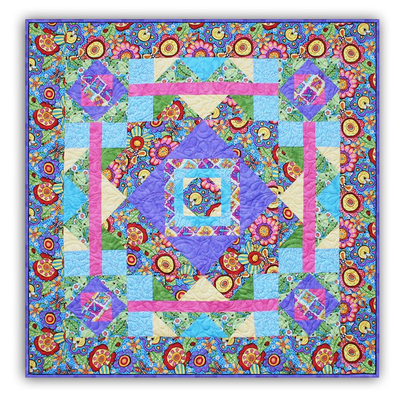 Quilt Patterns For Mother S Day : Exclusive Mother s Day Bugapalooza Quilt Kit! by Homespun Hearth Exclusive Design