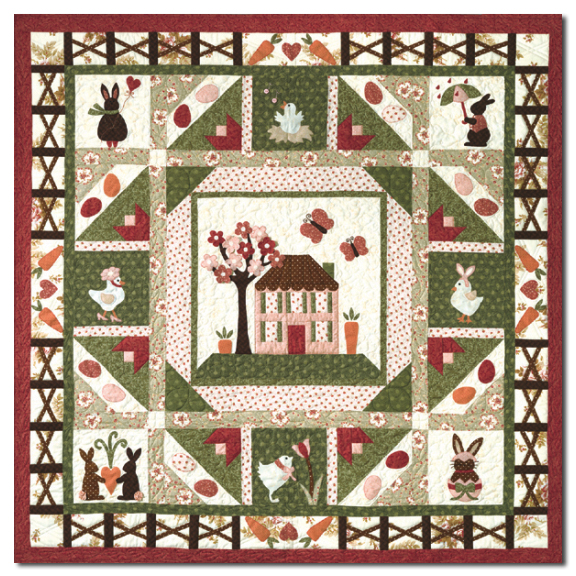 The Carrot Patch Quilt Kit -Block of the MonthStart Any Time! by ... : quilt companies - Adamdwight.com