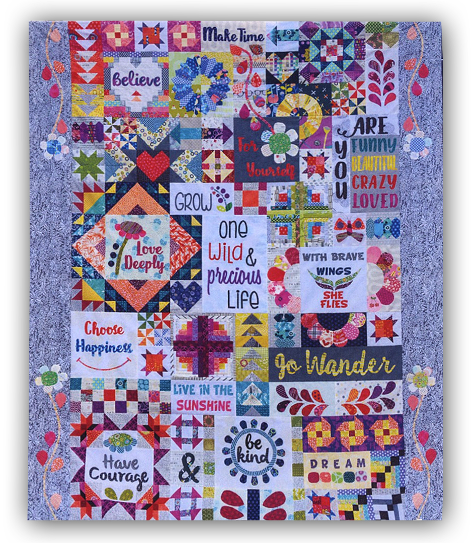 Dear Daughter Block Of The Month Or All At Once Quilt Kit