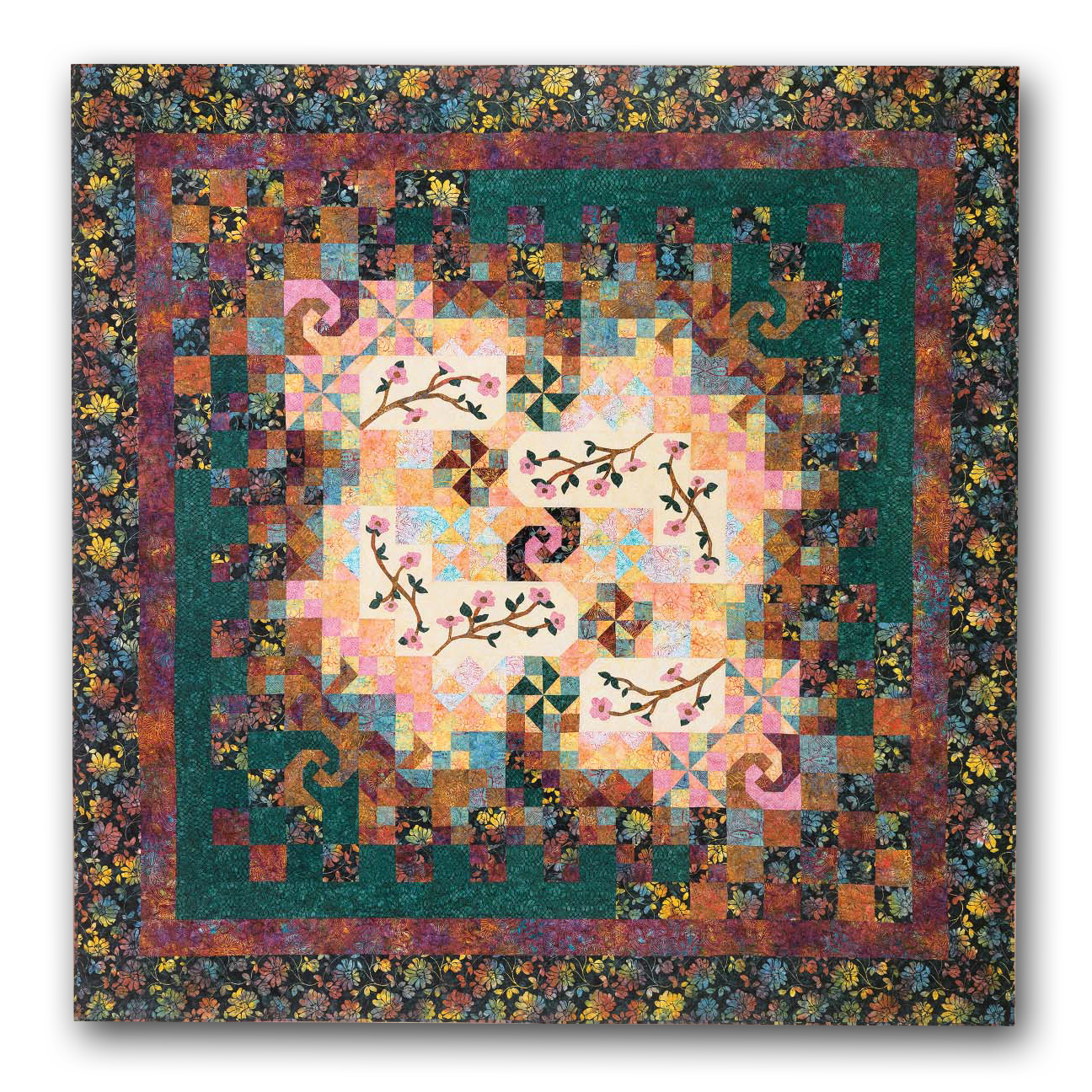 Meadow Tonga Batiks King Sized Block Of The Month Or All