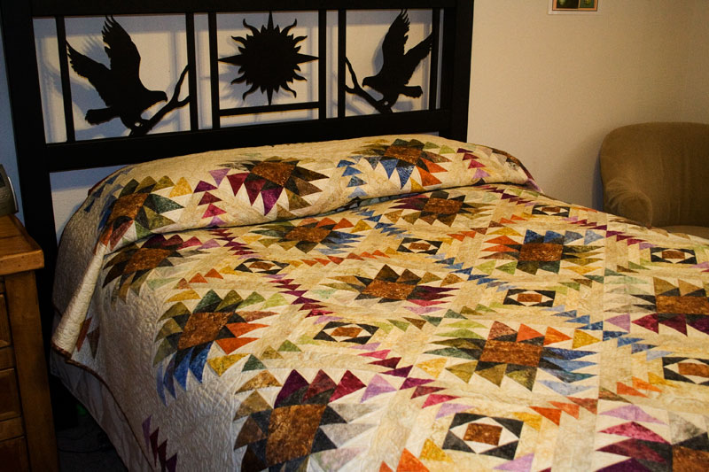 Texas Star Quilt Pattern Lap Twin Queen By Whirligig Designs