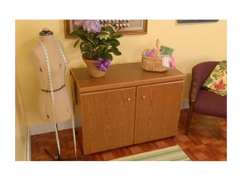 Bertha Sewing Machine Cabinet By Arrow