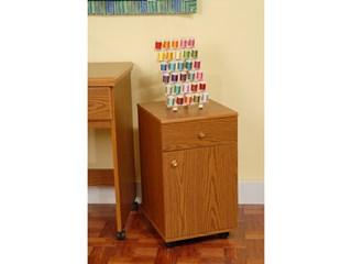 Suzi Storage Sidekick Cabinet by Arrow - Oak