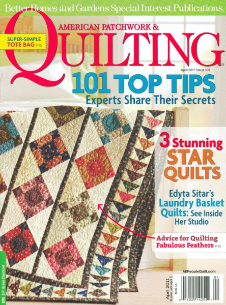 American Patchwork Quilting April 2011