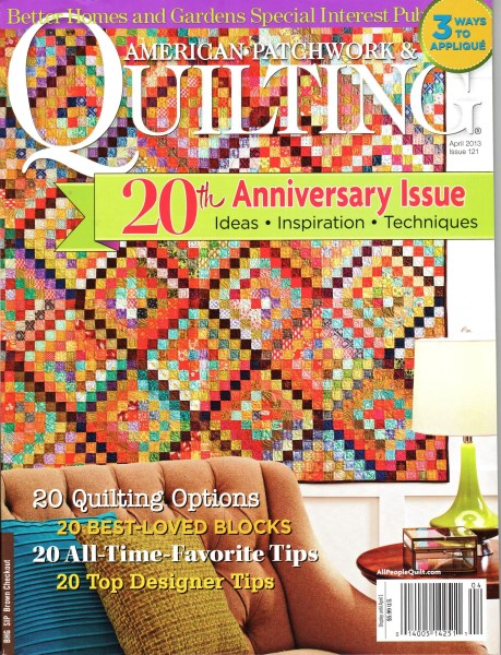 American Patchwork Quilting April 2013 Issue 121