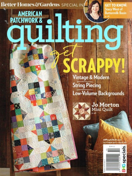American Patchwork Quilting October 2017 Issue 148