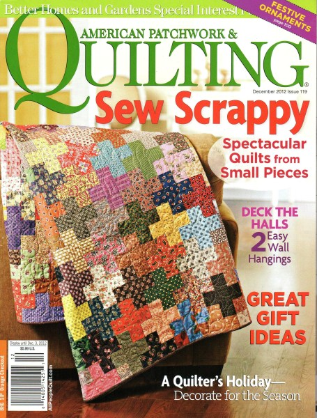 American Patchwork Quilting December 2012 Issue 119