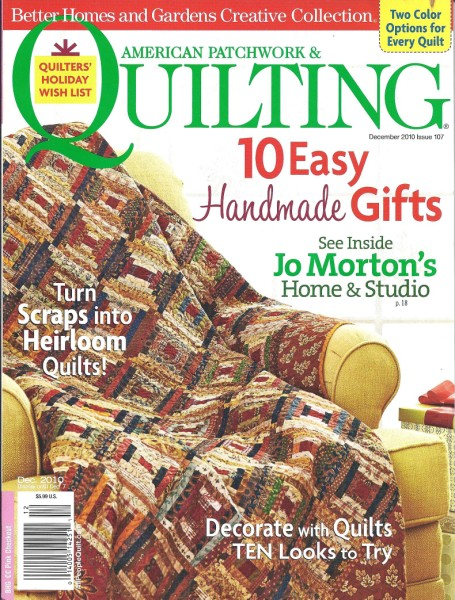 American Patchwork Quilting December 2010