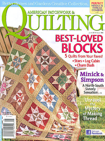 American Patchwork Quilting June 2010