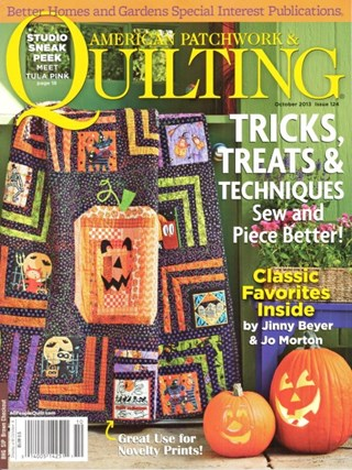 American Patchwork Quilting October 2013 Issue 124