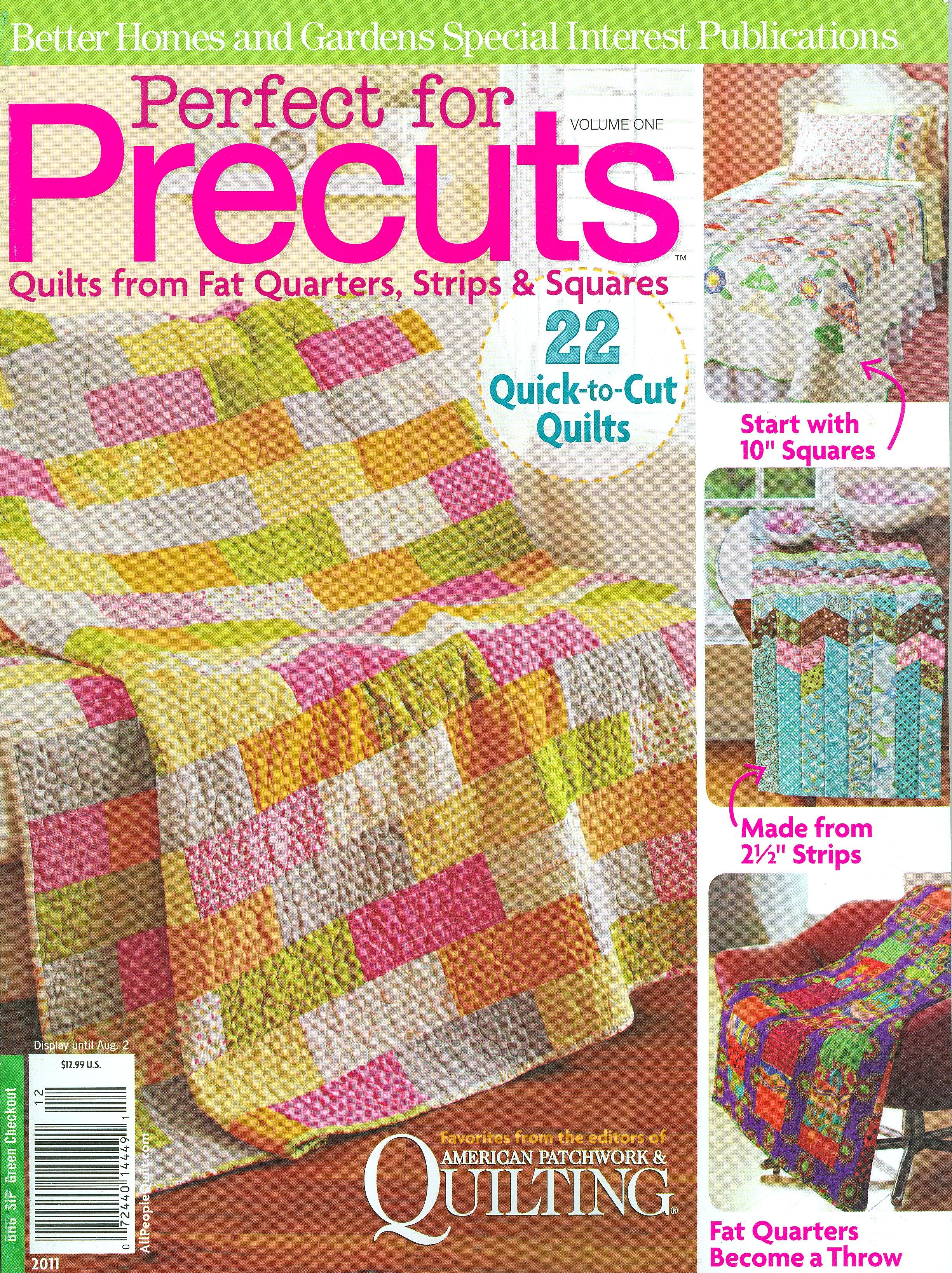 Perfect For Precuts Quilts From Fat Quarters Strips