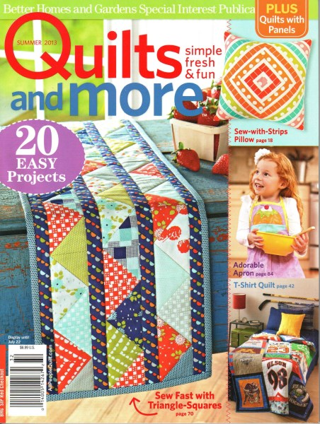 Better Homes And Gardens Quilts And More Summer