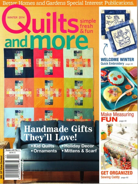 Quilts More Winter 2014