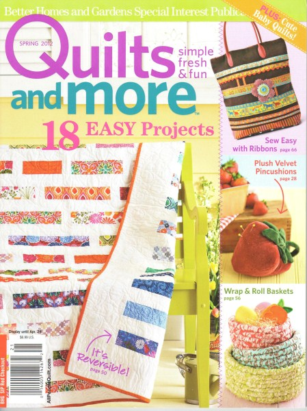 Quilts More Spring 2012
