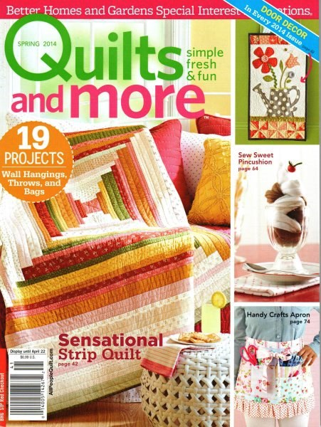 Quilts More Spring 2014
