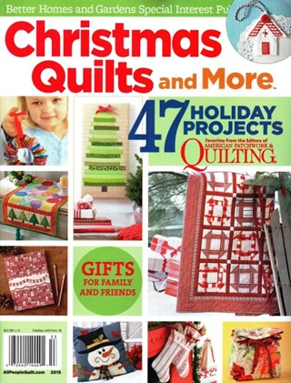 Christmas quilts and more better homes gardens Better homes and gardens christmas special