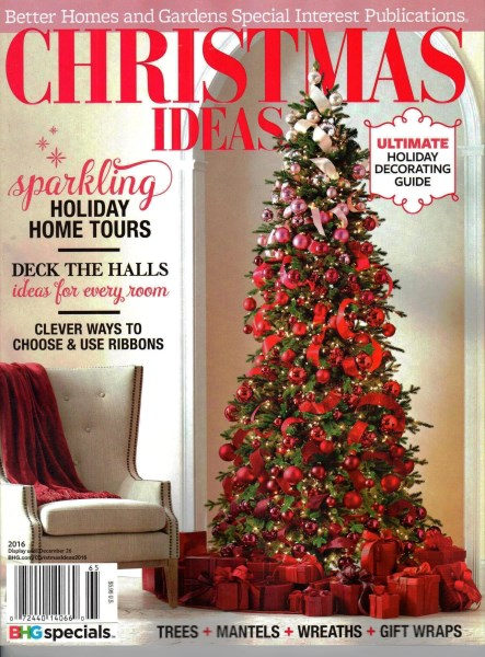 Christmas ideas 2016 better homes gardens special Better homes and gardens christmas special