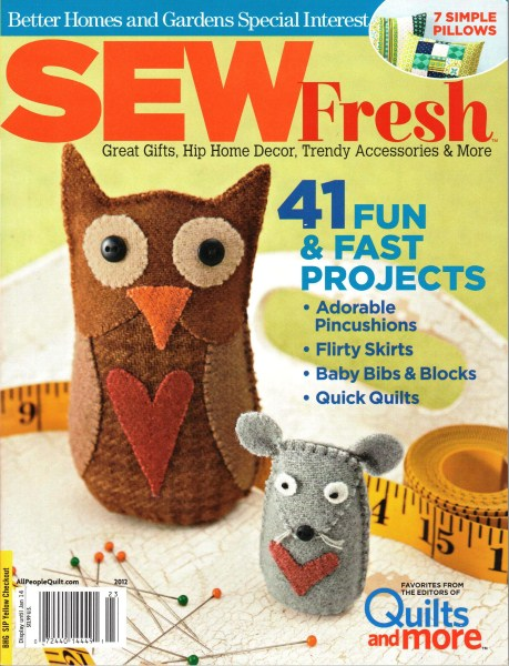 Sew Fresh A Better Homes And Gardens Special Interest
