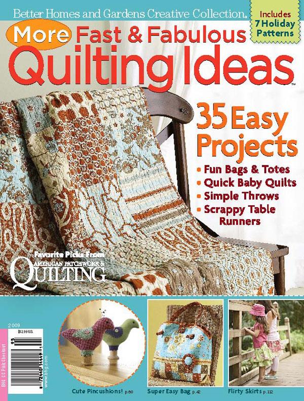 Better Homes Gardens Quilting Bonus Specials Magazine