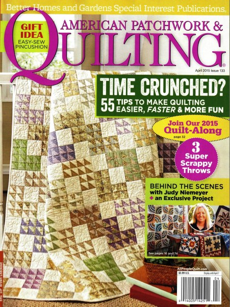 American Patchwork Quilting April 2015 Issue 133