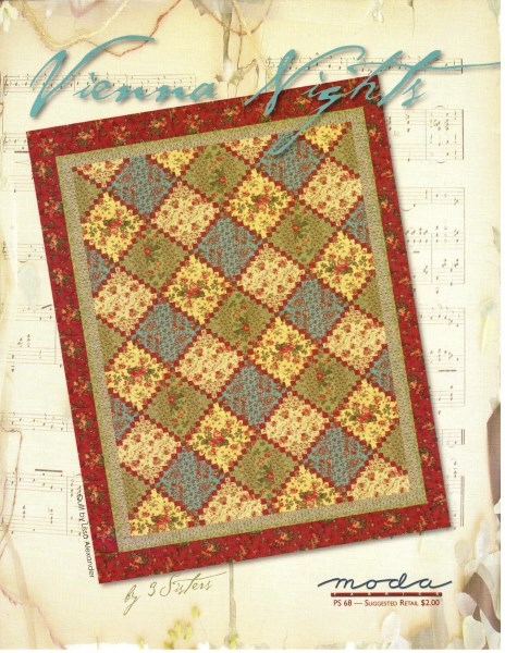 Vintage Find Vienna Nights Quilt Pattern By 3 Sisters For Moda By 3