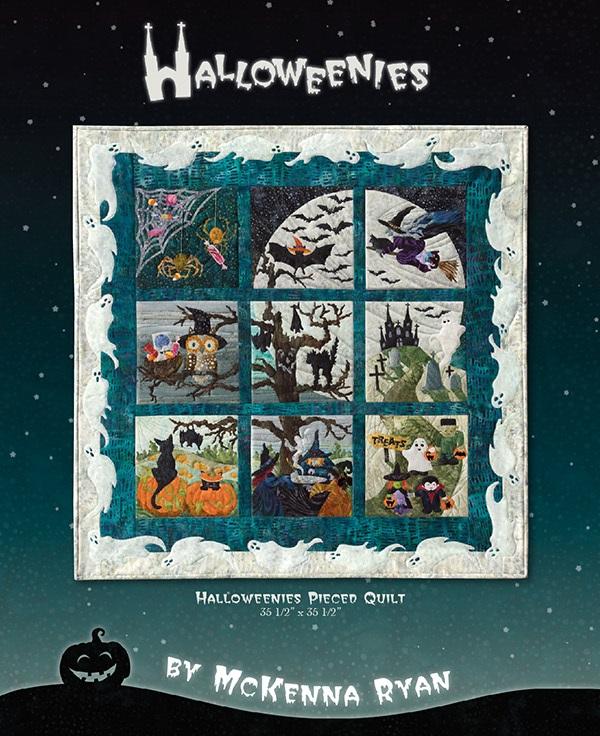 mckenna ryan halloweenies block of the month