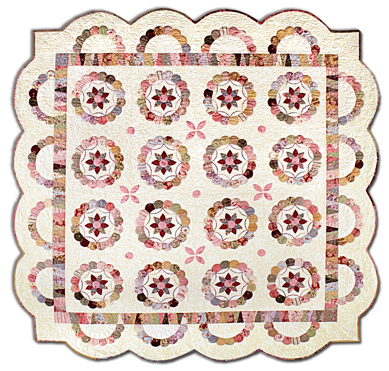 It Takes Two English Paper Pieced Quilt Kit All At