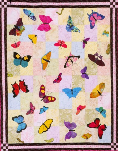 Butterfly applique quilt - TheFind