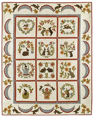 FREEBIES FOR CRAFTERS: Baltimore quilt patterns
