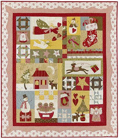 All Things Christmas Pattern Set Amp Embellishment Kitbunny