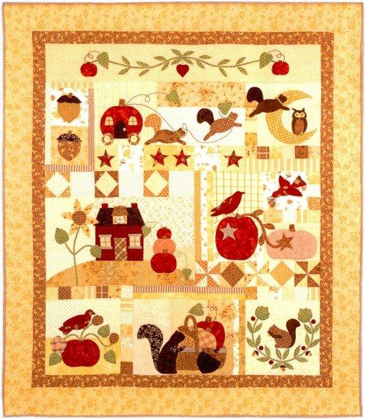 Pumpkin Hill Quilt Pattern by Bunny Hill Designs by Bunny Hill ... : bunny hill quilt patterns - Adamdwight.com