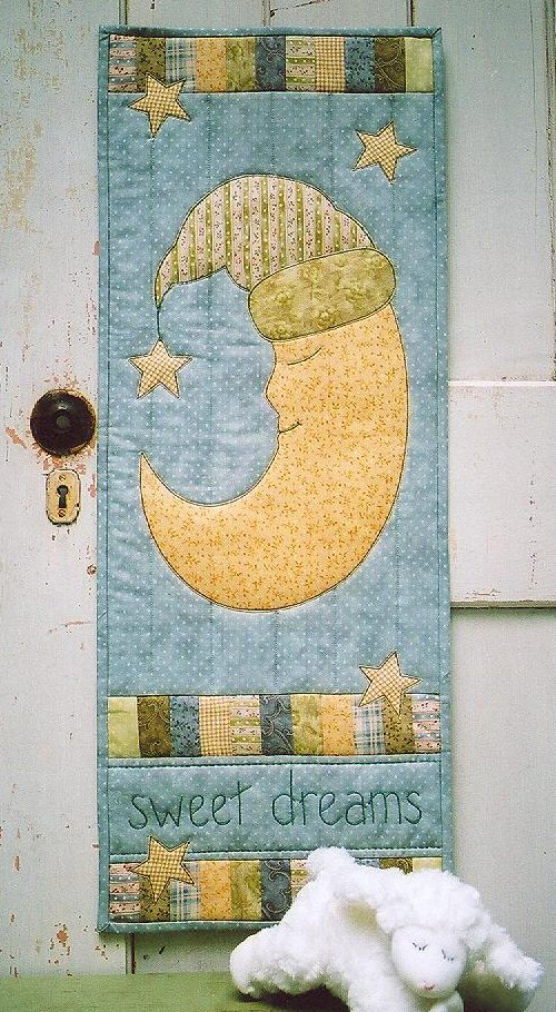 Sweet Dreams Wall Hanging Pattern By Cottage Creek Quilts