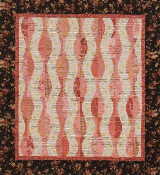 Ripple Effect Quilt Pattern By Cut Loose Press