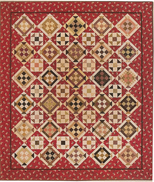 Scarlet Begonia Pattern by Miss Rosies Quilt Company : quilt companies - Adamdwight.com