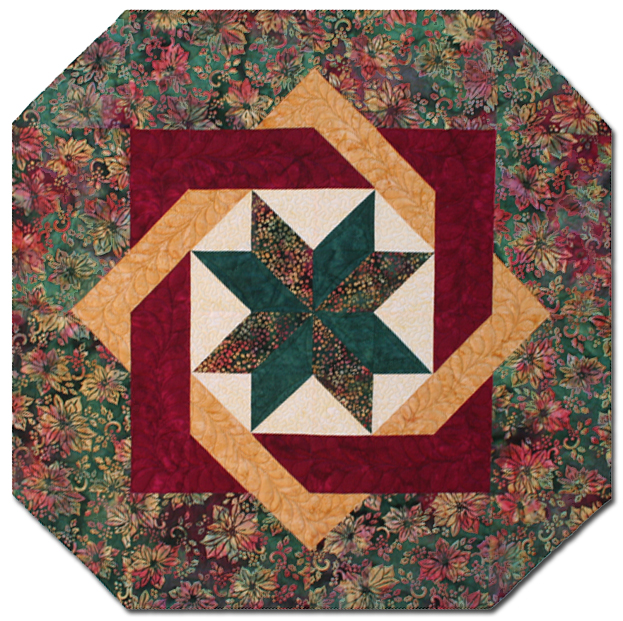 hexagon patterns, free patterns, patchwork tips, placemats