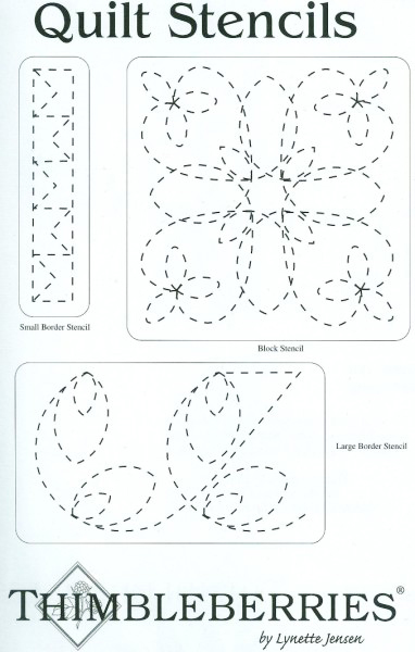 Quilt Stencil Set - for the Circle of Love Quilts by ... : free quilt stencils - Adamdwight.com
