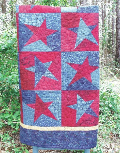 Kwik Scrappy Star Quilt Pattern