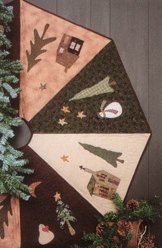 Country Tree Skirt Pattern By Whimsicals By Whimsicals Quilts