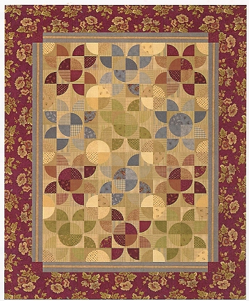 Quilt Patterns For Homespun Fabric : Gatherings Quilt Kit