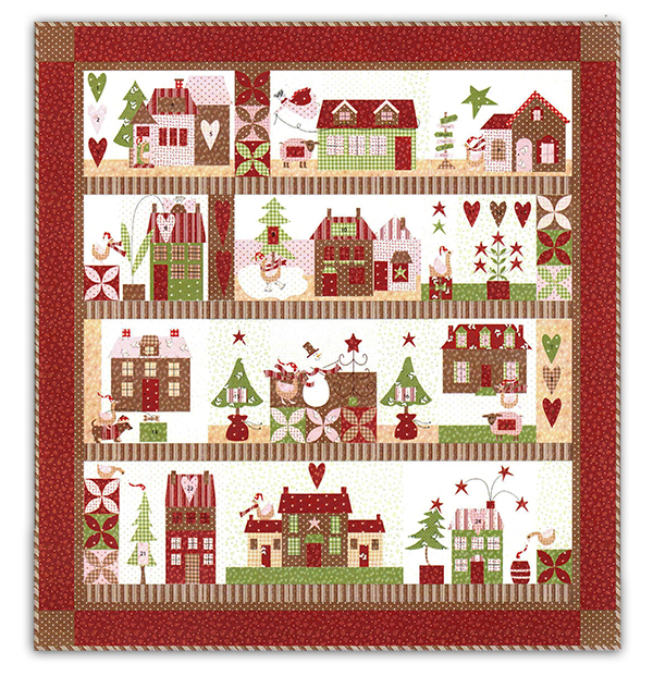 Mistletoe Lane Quilt