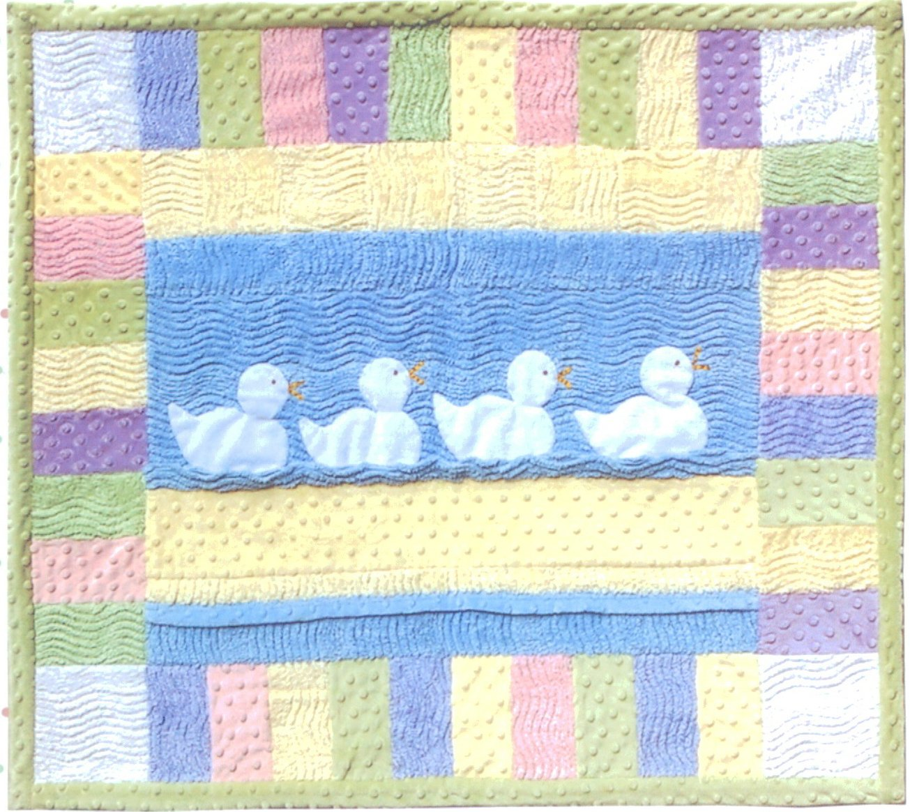 Just ducky quilt baby quilt kit - Quilt rits ...