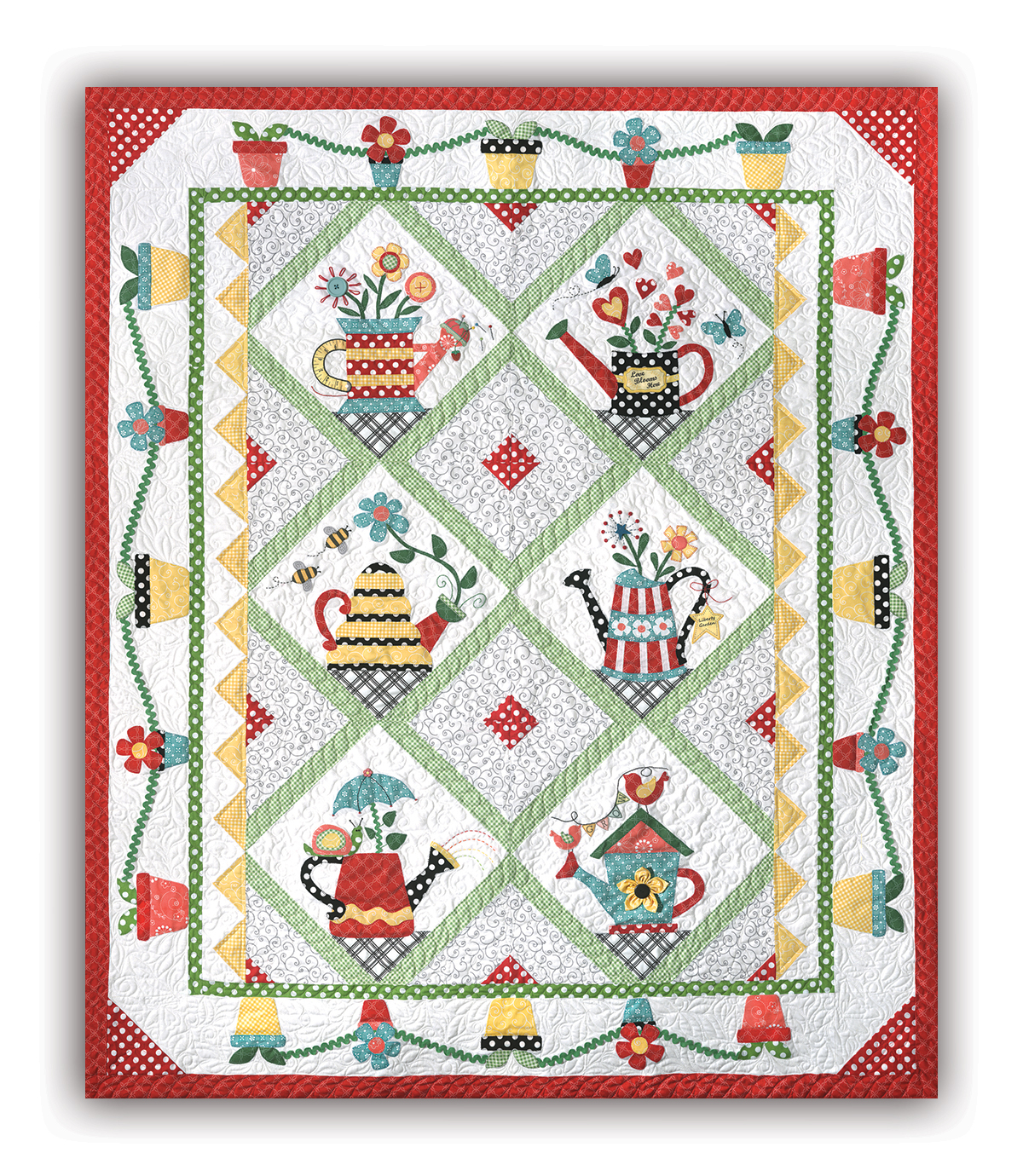 New! Sprinkled With Love Block of the Month or All at Once! Start ... : quilt companies - Adamdwight.com