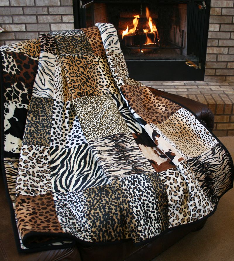 The Serengeti Snuggler Minky Quilt Pattern Download By