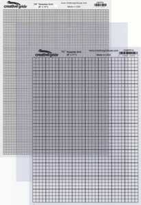 Creative Grids Textured Template Plastic Grids