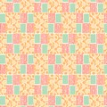 Orange Pattern Print - Lady Edith - Downton Abbey Collection by Andover Fabrics
