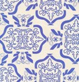 Tribal in Blue From Free Spirit Fabrics